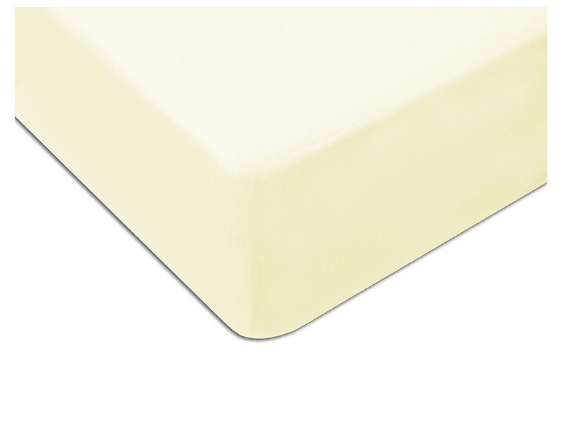 Darymex Jersey Fitted Bed Sheet - Off White - Europen made