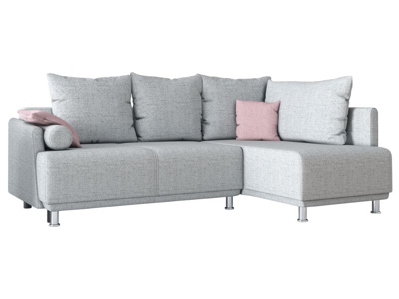 Libro Sectional Zafira Plus - Trendy sectional with bed and storage