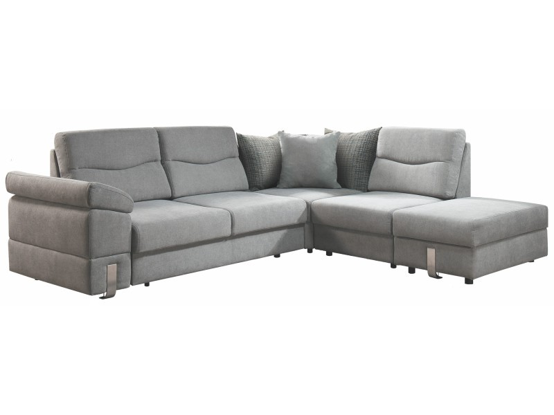 Libro Sectional Salsa Trend 2FL-EL-1BK-HOBKR - Sectional sofa with bed and two storages
