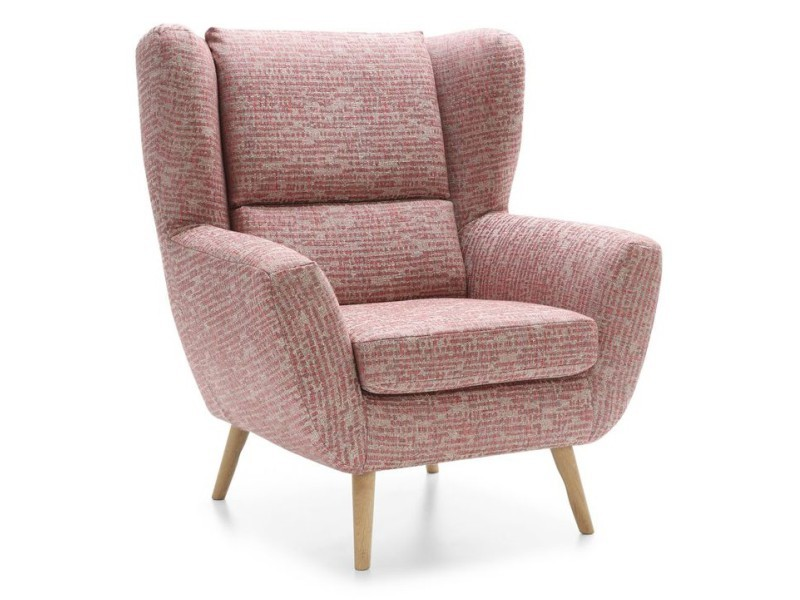 Gala Collezione Armchair Forli  - Comfortable wingback chair