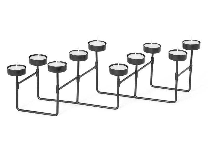 Torre & Tagus Accordion Folding 10 Cup Tealight Holder - Modern decor