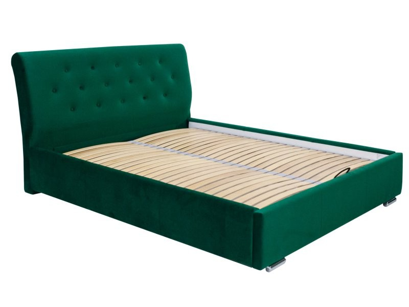 Masket Storage Bed Amore - Modern upholstered bed