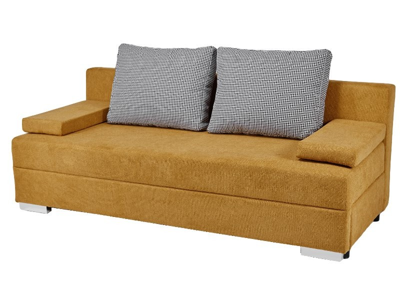 Masket Sofa Mello 3FP - Fabric Bonn 40 / Kenia 701 - Modern sofa bed with storage