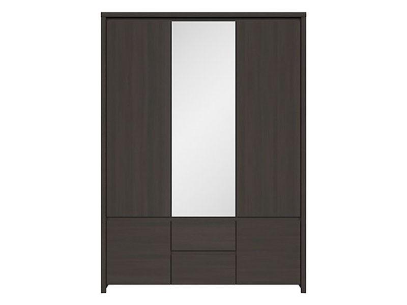 Kaspian Wenge 5 Door Wardrobe - Contemporary furniture collection