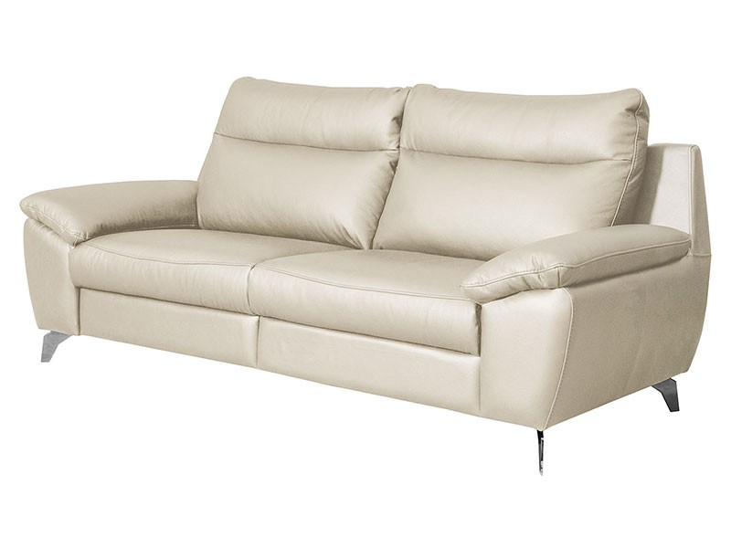 Des Sofa Perle 2,5TVE - Dollaro Nebia - Double power recliner