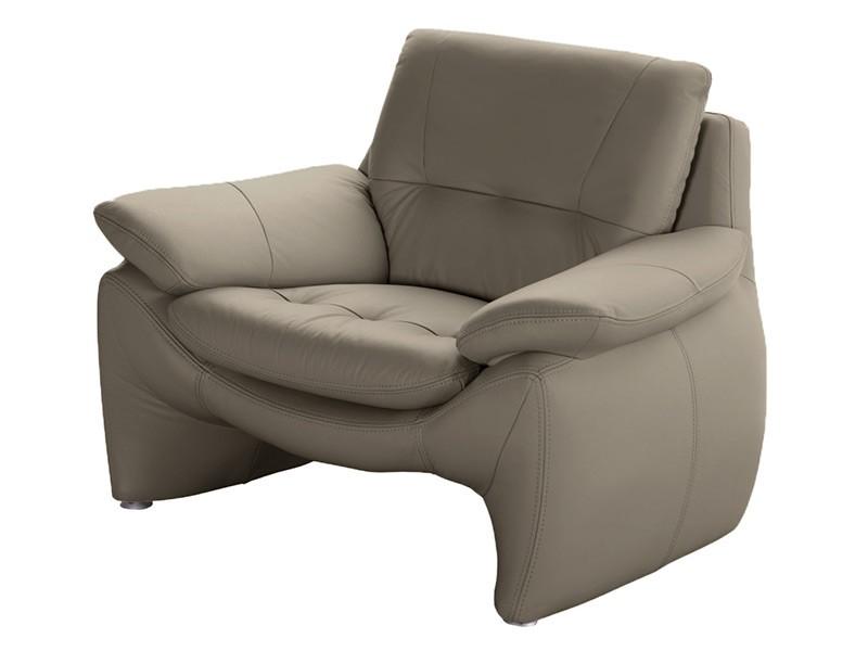 Des Armchair Madryt - Dollaro Smog - Full-grain leather