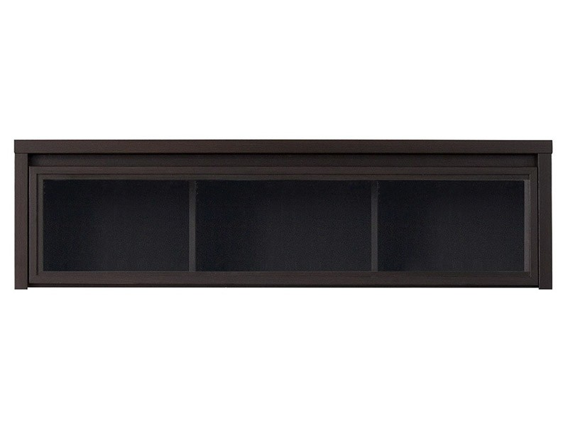 Kaspian Wenge Floating Cabinet - Contemporary furniture collection