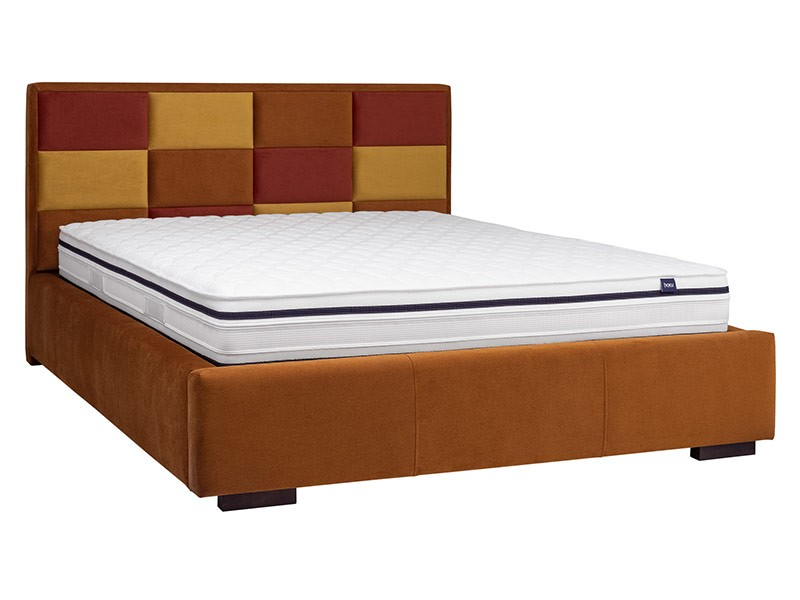 Masket Bed Choco - Modern upholstered bed