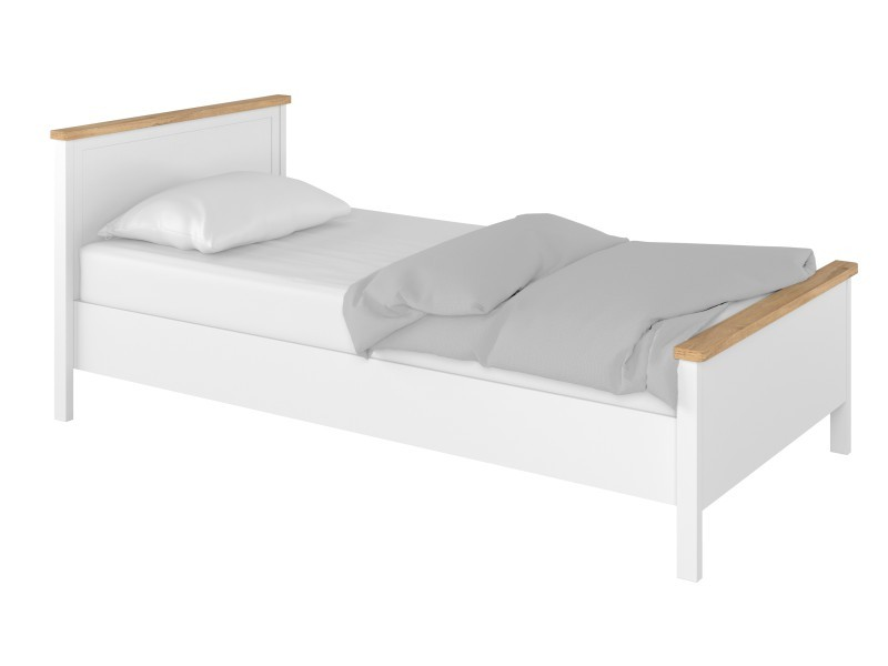 Lenart Bed Story SO-08 - Bed with mattress