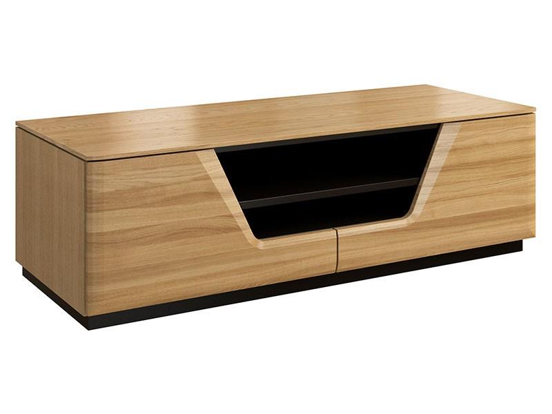 Mebin Smart Tv Stand Natural Oak - Furniture of the highest quality