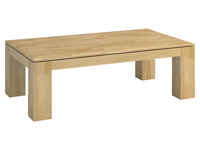 Mebin Rossano Coffee Table Oak Bianco - High-quality European furniture