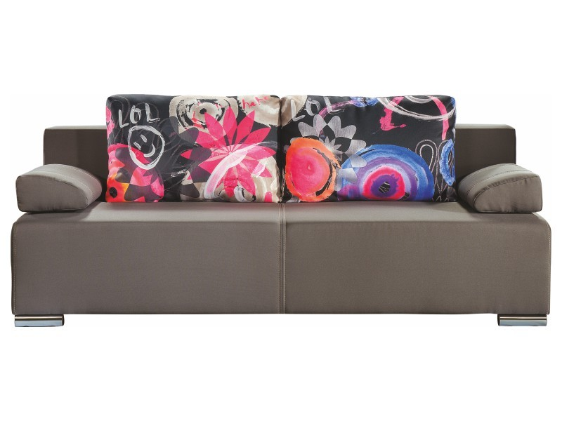 Libro Sofa Play Lux Lol 3FBA - Sofa with bed and storage