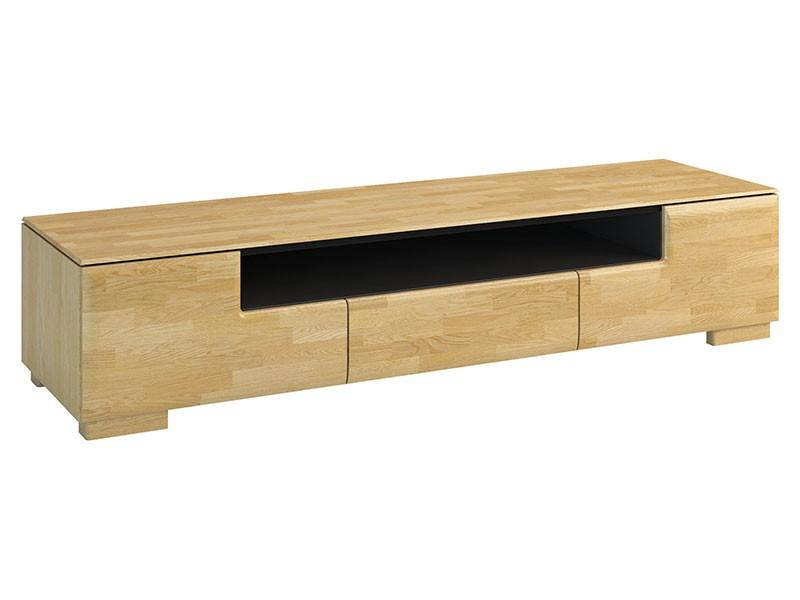 Mebin Rossano Tv Stand Oak Bianco - High-quality European furniture