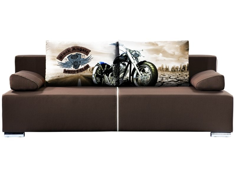 Libro Sofa Play New Motorcycle 3FBA - Sofa with bed and storage