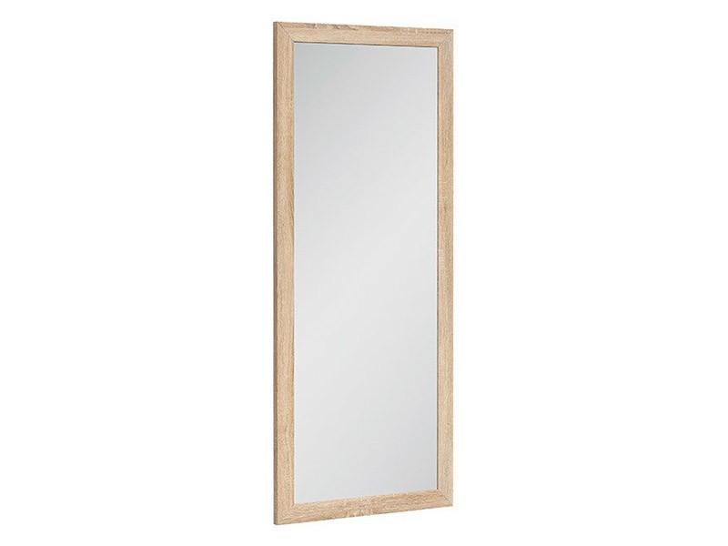 Kaspian Oak Sonoma Mirror - Contemporary accent
