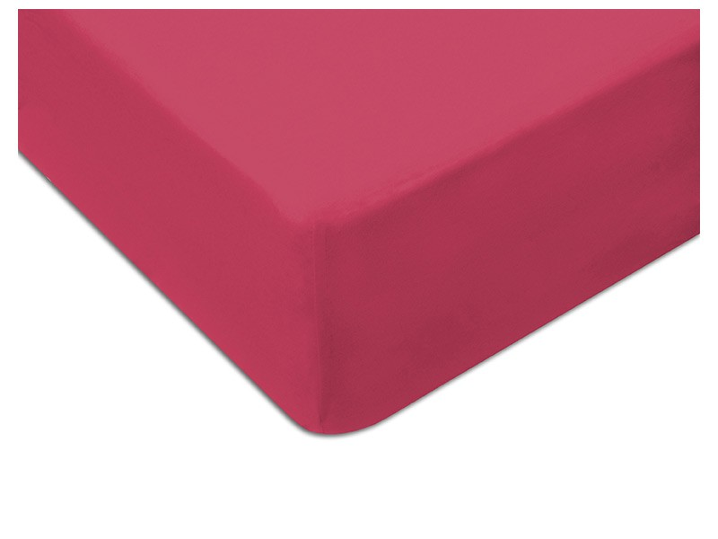Darymex Jersey Fitted Bed Sheet - Fuchsia - Europen made