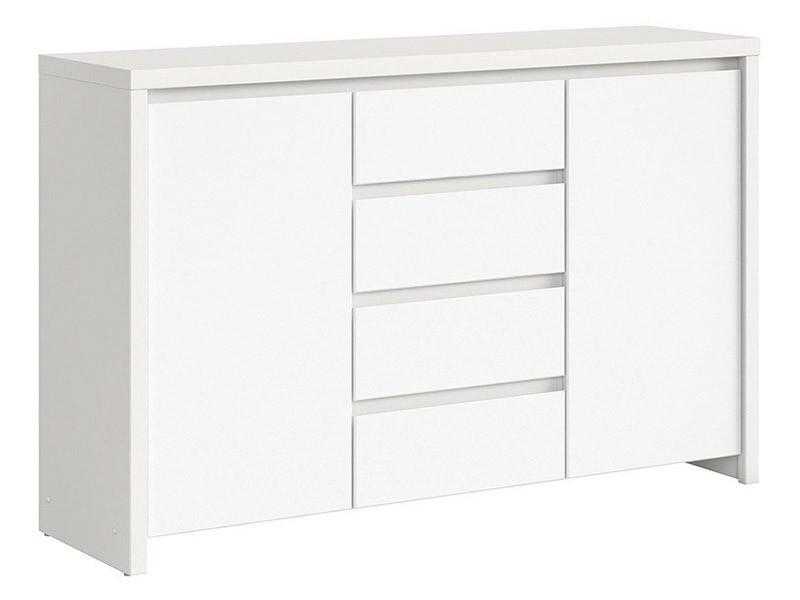 Kaspian White Dresser - Versatile storage solution