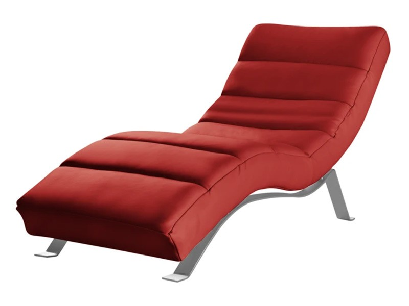Des Chaise Lounge Swing - Madras 502 - Top-grain leather