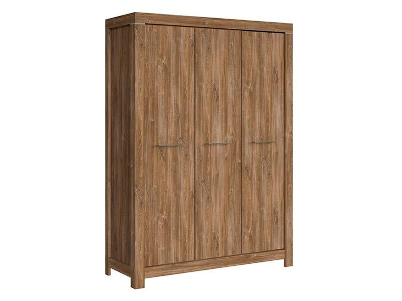 Gent 3 Door Wardrobe - Spacious armoire