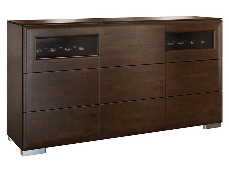 Mebin Rossano Sideboard Oak Notte - High-quality European furniture