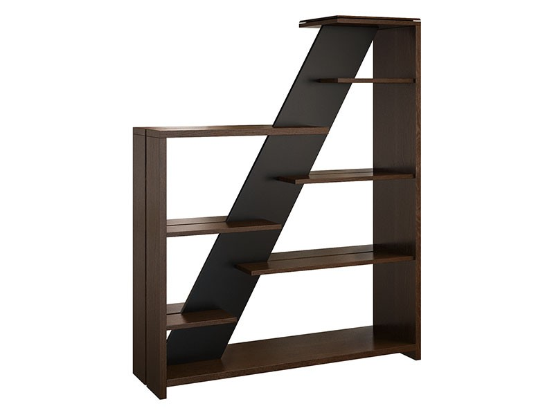 Mebin Rossano Freestanding Bookshelf Oak Notte - High-quality European furniture