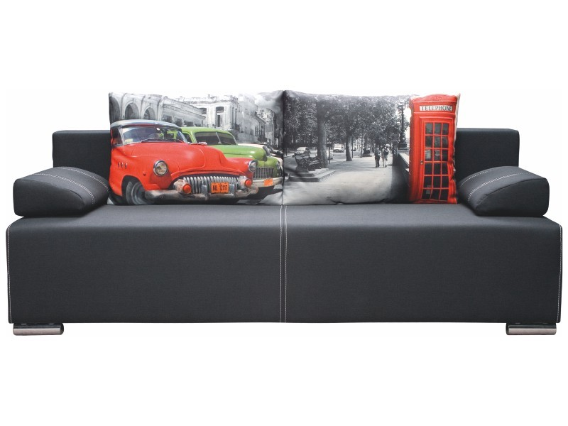 Libro Sofa Play Lux Street 3FBA - Sofa with bed and storage