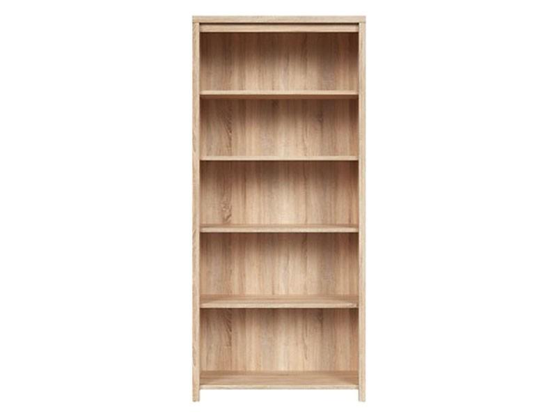 Kaspian Oak Sonoma Bookcase - Contemporary furniture collection
