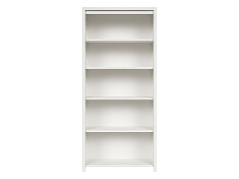 Kaspian White Bookcase - Contemporary furniture collection