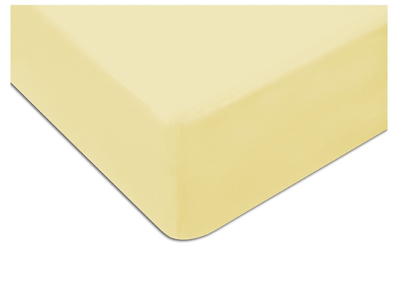Darymex Jersey Fitted Bed Sheet - Cream - Europen made