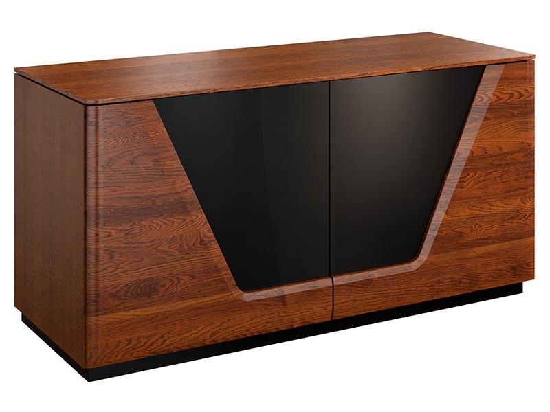 Mebin Smart Storage Cabinet Antique Walnut - Furniture of the highest quality