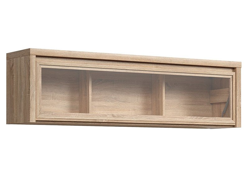 Kaspian Oak Sonoma Floating Cabinet - Contemporary furniture collection