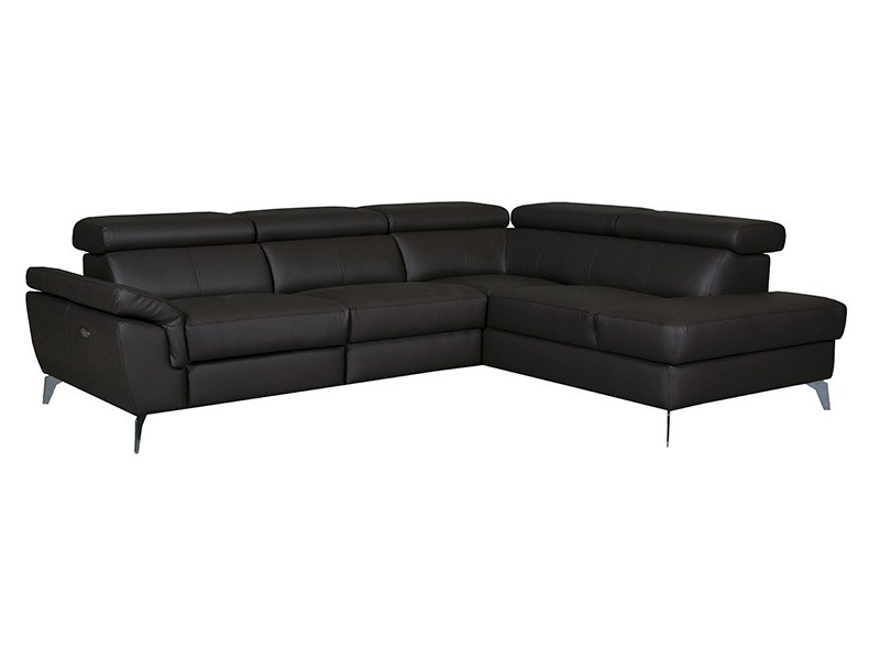 Des Sectional Sono With Power Recliner - Madras 510 - Corner sofa with power recliner and storage