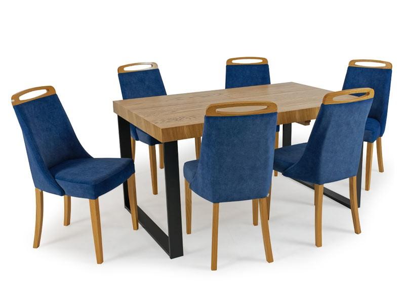 Bukowski Dining Set Lukas and Torino - European extendable table
