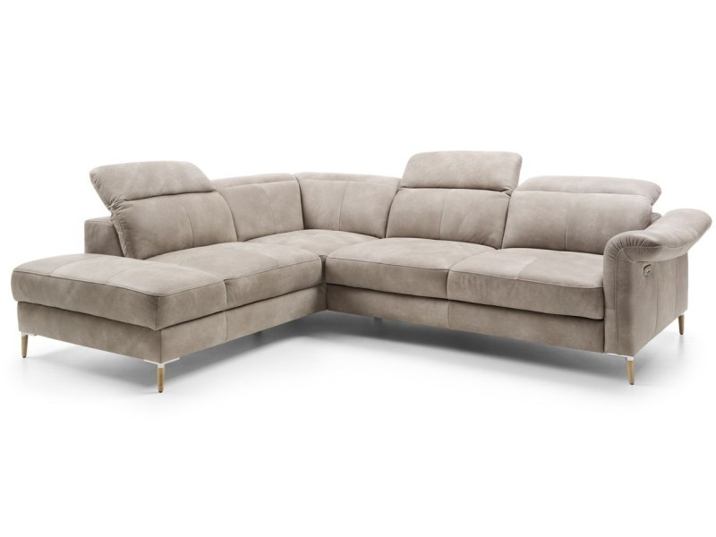 Gala Collezione Sectional Fava OTM11SL-2,5QFP - Sectional with bed and storage