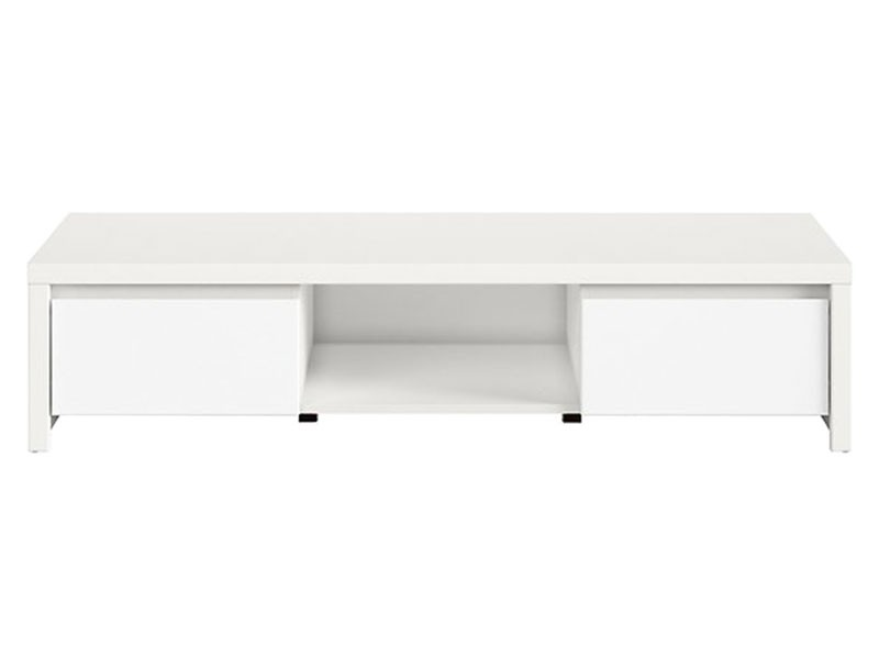 Kaspian White Tv Stand - Contemporary furniture collection