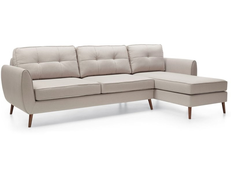 Wajnert Sectional Oland 2,5BF-1OT - Scandinavian style sectional