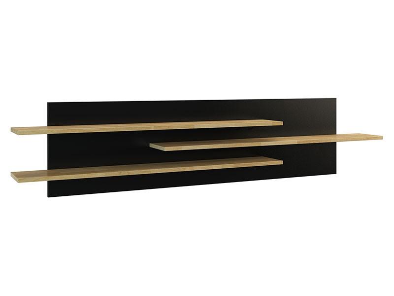 Mebin Rossano Large Hanging Shelf Oak Bianco - High-quality European furniture