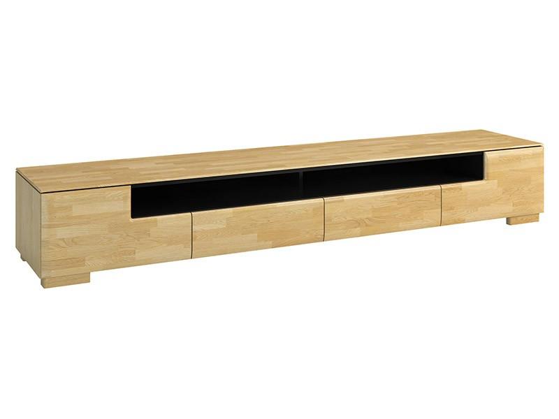 Mebin Rossano Tv Stand Maxi Oak Bianco - High-quality European furniture